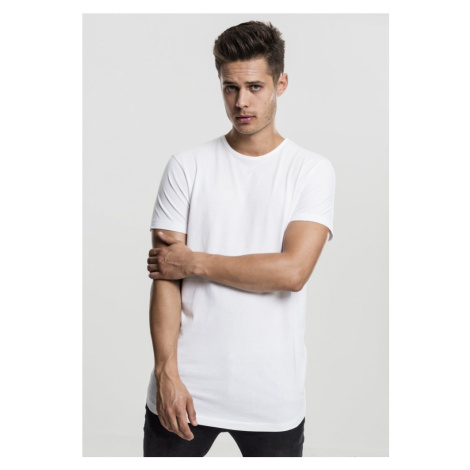 Peached Shaped Long Tee - offwhite