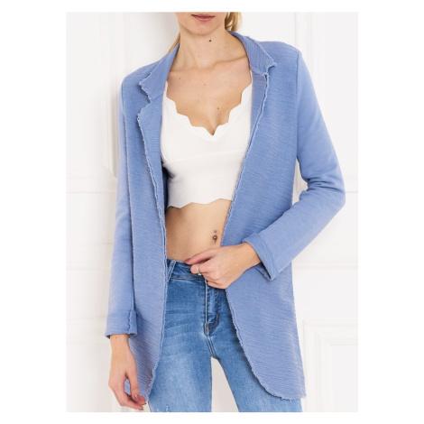 Dámský cardigan k jeans - modrá