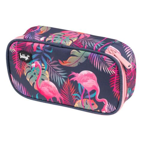 BAAGL školní penál etue Flamingo