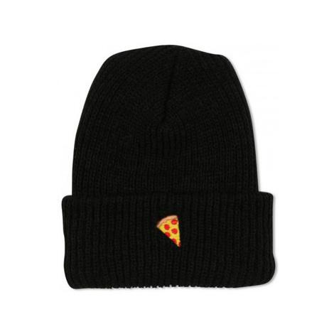 Pizza Beanie emoji Černá