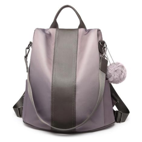 Šedý stylový moderní dámský batoh/kabelka Ahana Lulu Bags