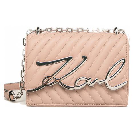 Růžová kabelka - KARL LAGERFELD
