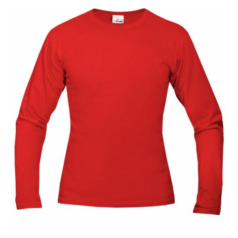 Tričko pánské AF long dlouhé - Červená