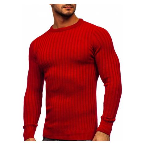 Červený pánský svetr Bolf 4603