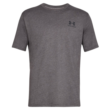 Tričko Under Armour SPORTSTYLE LEFT CHEST SS - šedá