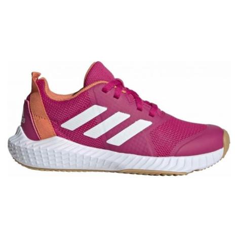 adidas FORTAGYM K růžová - Dětská sálová obuv