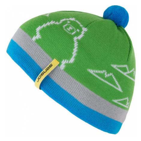Dětská čepice SENSOR Bear zelená
