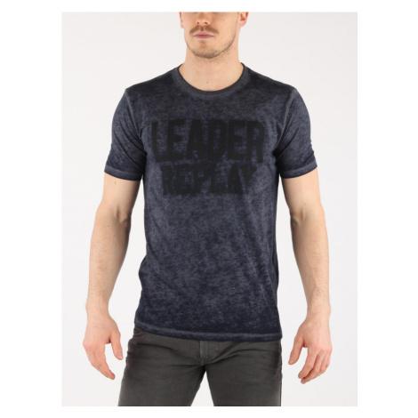 Tričko Replay M3647 T-Shirt Modrá