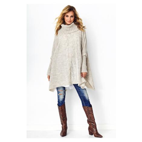 Makadamia Woman's Sweater MAK S91  Melange