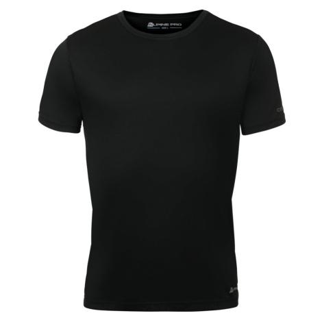 Pánské triko Alpine Pro NASMAS 2 - černá