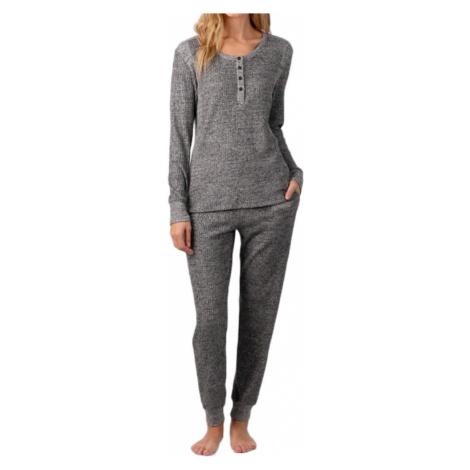 DKNY dámské pyžamo YI2922447 šedé - Šedá