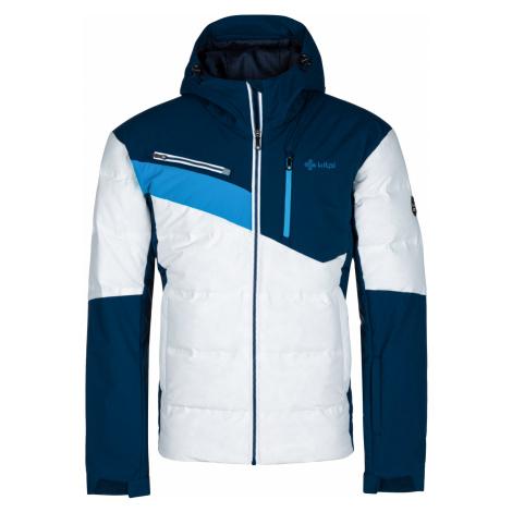 KILPI Pánská zimní bunda - větší velikosti TEDDY-M LMX036KIWHT Bílá