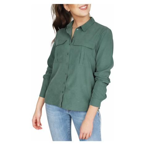 Zelená košile z modalu Vishala