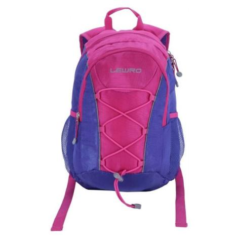 Lewro DINO 12 růžová - Víceúčelový dětský batoh