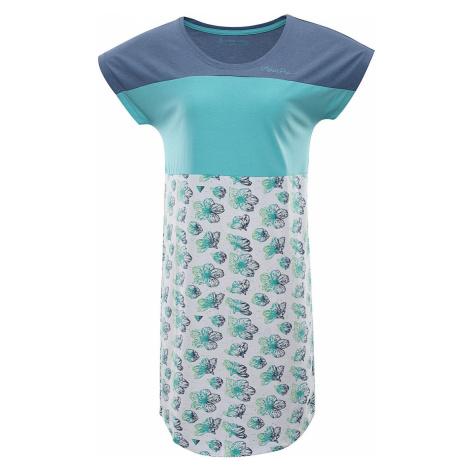 ALPINE PRO CLEYA Dámské šaty LSKR222000PC bílá