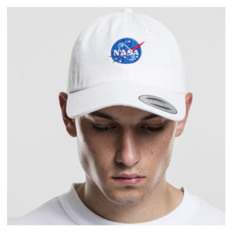 Mr. Tee NASA Dad Cap white