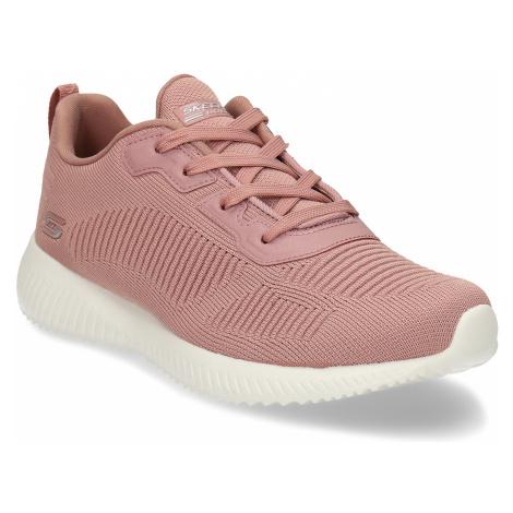 Růžové dámské tenisky s paměťovou pěnou Skechers