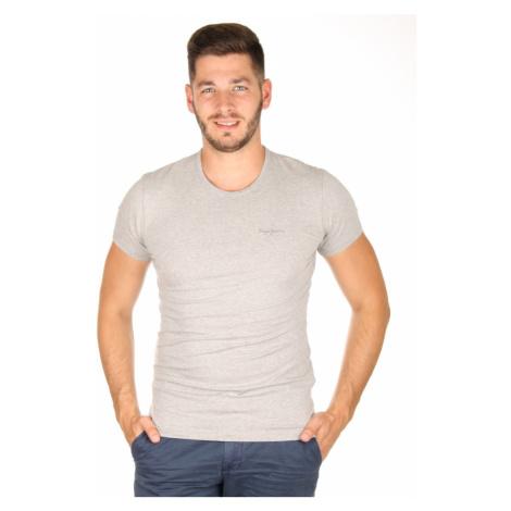 Pepe Jeans pánské šedé tričko Original