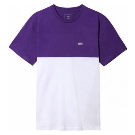 Vans MN COLORBLOCK TEE bílá - Pánské triko