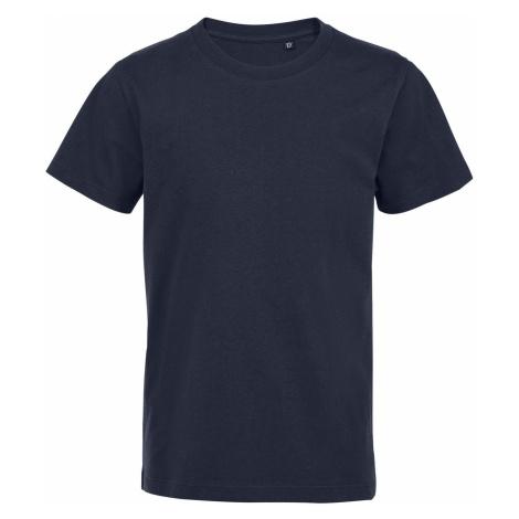 SOLS Dětské tričko MARTIN KIDS 03102319 Námořní modrá SOL'S