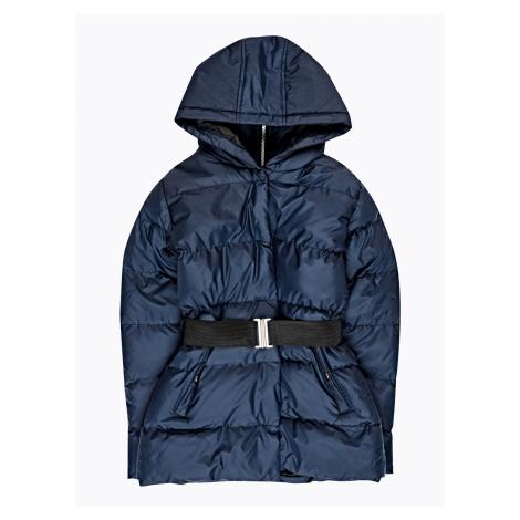 GATE Prošívaná vatovaná bunda s kapucí a elastickým páskem