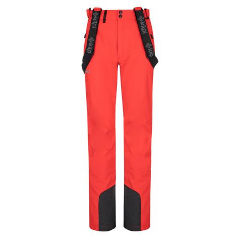 KILPI Dámské lyžařské softshellové kalhoty - větší velikosti RHEA-W NLX047KIRED Červená