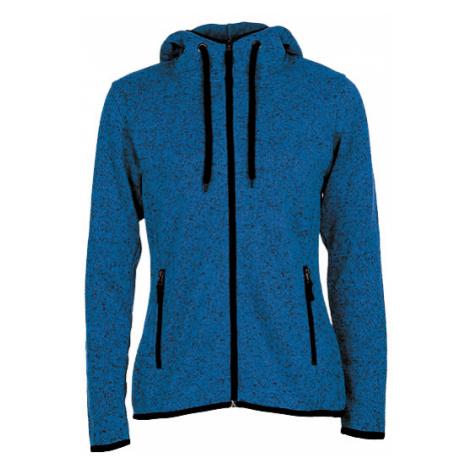 Pletená Fleece mikina dámská - Modrá