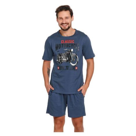 Pánské pyžamo Mario modré