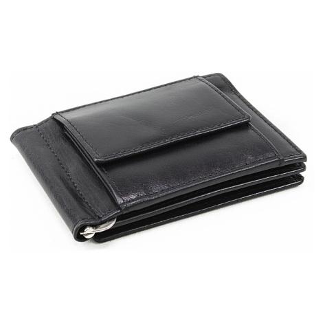 Černá pánská kožená peněženka Miles Arwel