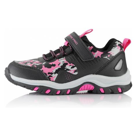 Dětská outdoorová obuv Alpine Pro BLODO - růžová