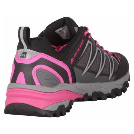 Alpine Pro Lobene dámské outdoorové boty růžové