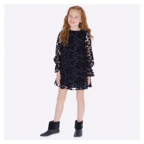 Dívčí šaty Mayoral 7927 | modrá