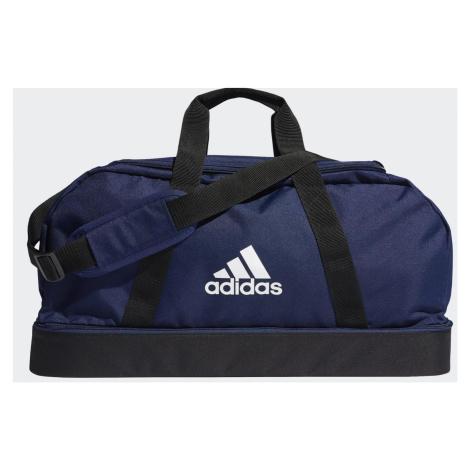 Taška adidas TIRO DUFFEL BAG BOTTOM COMPARTMENT Tmavě modrá / Černá