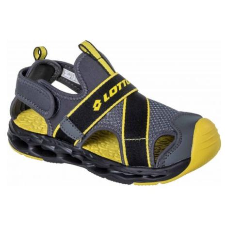 Lotto MUFF černá - Dětské sandály