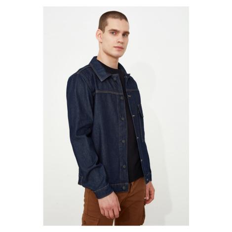 Trendyol Black Male Single Pocket Trucker Jacket