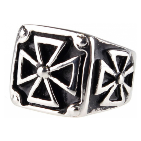 prsten ETNOX - Black Iron Cross - SR1138