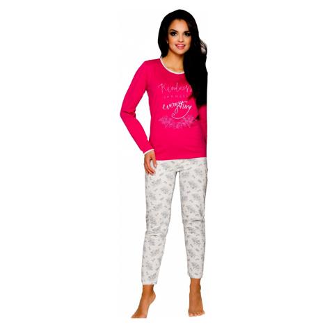 Dámské pyžamo Taro Gabi 211 rapberry | malinová