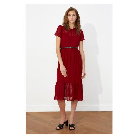 Dámské šaty Trendyol Mint Belt