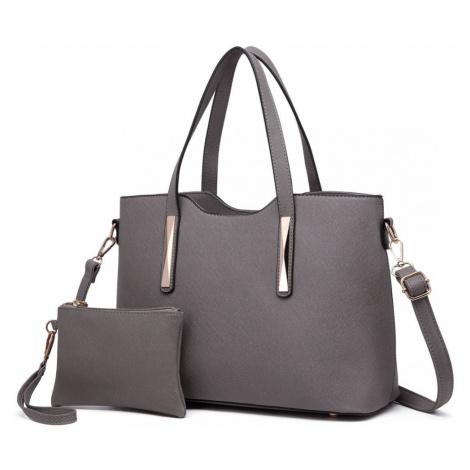 Šedý dámský kabelkový set 2v1 Triel Lulu Bags