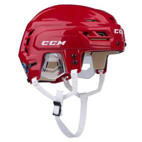 CCM TACKS 110 SR červená - Hokejová helma