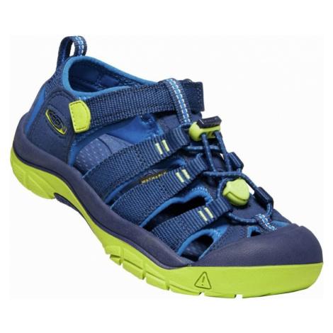 Dětské sandály Keen Newport H2 Youth blue depths/chartreuse