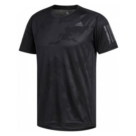 Tričko adidas Response TEE M Černá / Šedá