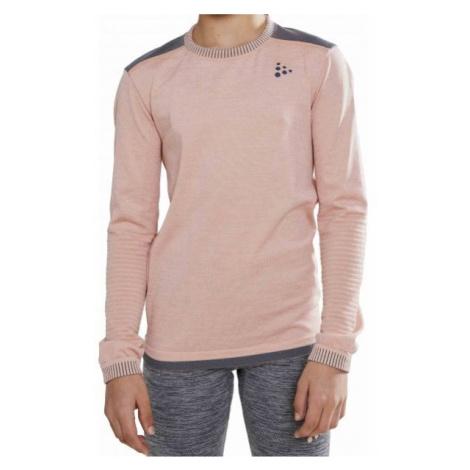 Craft FUSEKNIT COMFORT růžová - Juniorské funkční triko