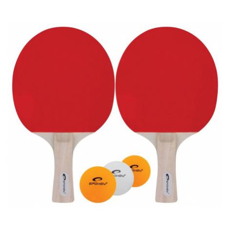 Spokey JOY SET-Sada pingpong, 2 pálky, 3 míčky, rovná rukojeť