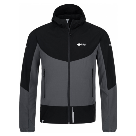 KILPI Pánská softshellová bunda BALANS-M PM0059KIDGY Tmavě šedá