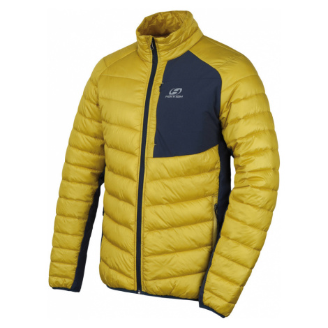 HANNAH REVEL Pánská zateplená bunda 10007229HHX01 citronelle/midnight navy