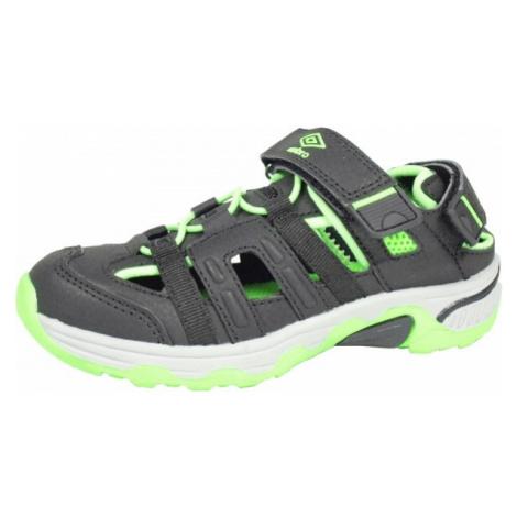 Umbro MIGEL černá - Dětské sportovní sandály