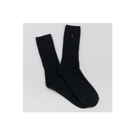 Polo Ralph Lauren Classic Cotton Crew Socks navy