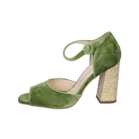 Olga Rubini Sandály BP385 Zelená