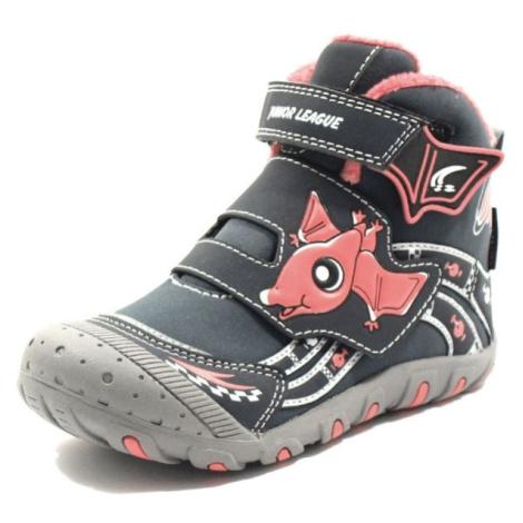 Junior League ABDON 2 HIGH béžová - Dětské kotníkové boty
